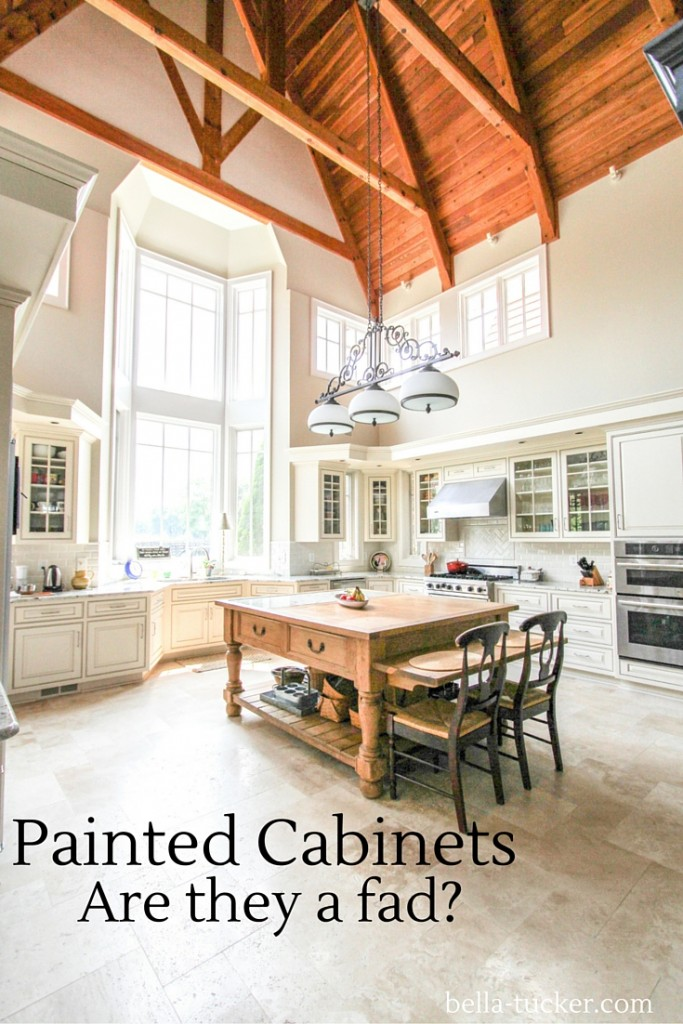 Painted Cabinets are they a fad