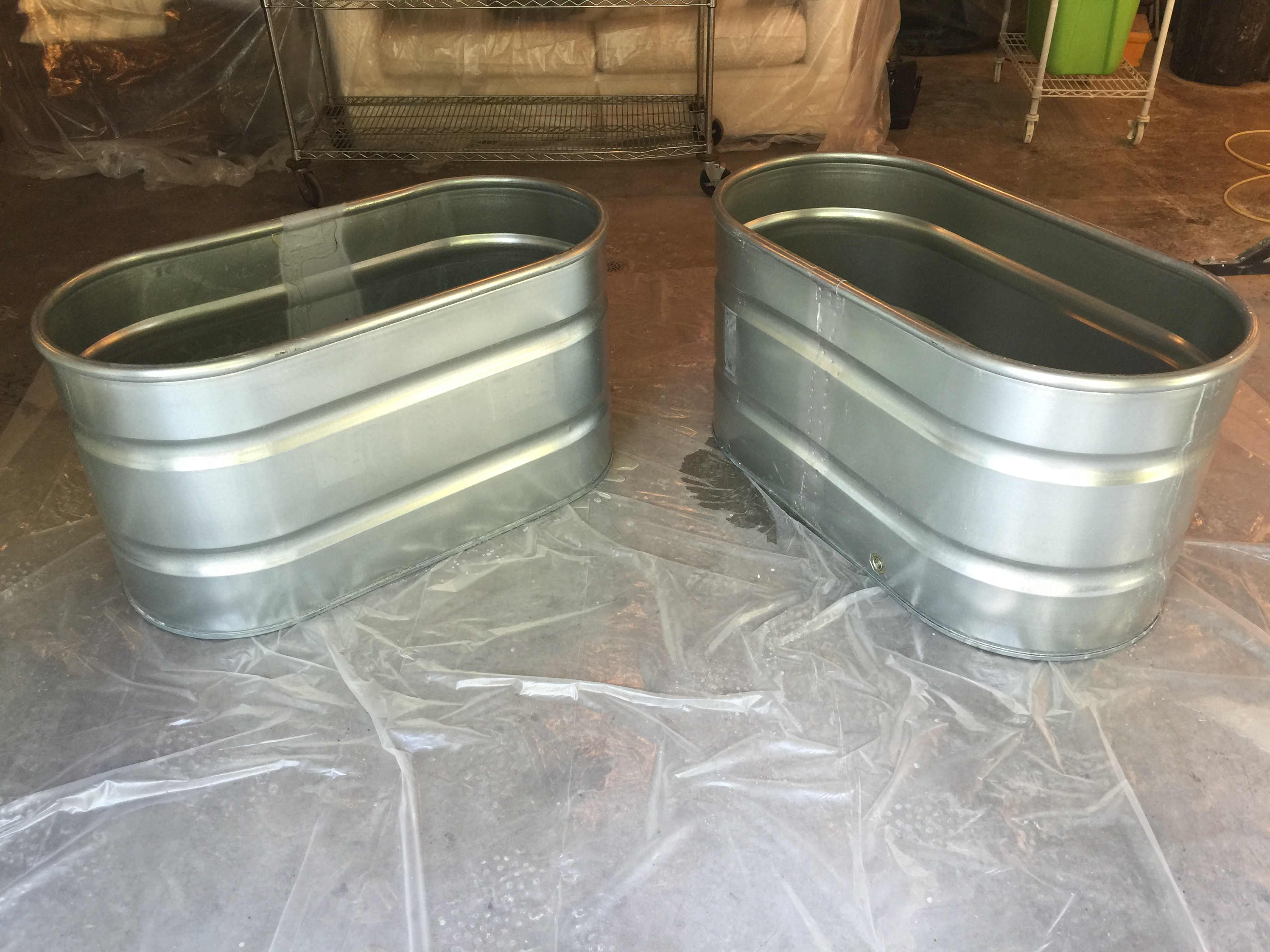 galvanized containers from tractor supply